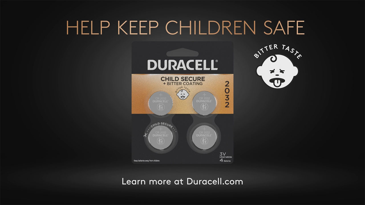 Duracell, in partnership with gymnast and new mom Shawn Johnson, work together to spread awareness of the hidden danger of lithium coin batteries with the Power Safely educational video. Learn more and watch the complete video at www.Duracell.com.