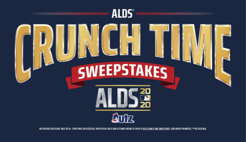 Utz sponsors the American League Division Series, October 5, 2020. Catch it on TBS!  - http://www.utzsnacks.com/scoreutz  - (Photo: Business Wire)