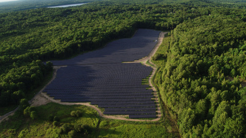 Pine Hill Solar Project, developed by EDF Renewables, is expected to meet 100% of the energy demands for Providence Water. (Photo: Business Wire)