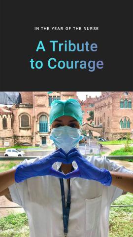 醫療服飾製造商Careismatic Brands推出全球活動,向廣大護士致敬,並為DAISY Foundation籌款(圖片:美國商業資訊)