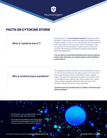 About Cytokine Storm