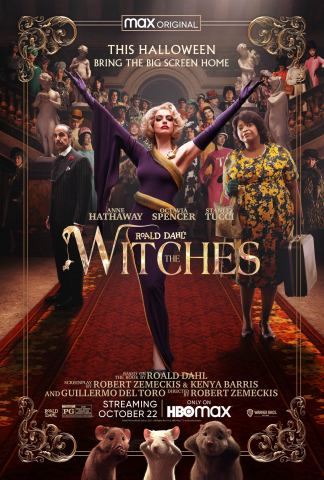 ROALD DAHL'S THE WITCHES Poster (Graphic: Business Wire)