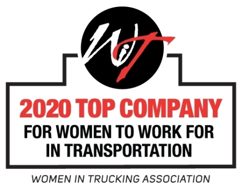 """Ryder is a recipient of the 2020 """"Top Companies for Women to Work For in Transportation"""" by Redefining the Road, the official magazine of Women In Trucking Association (WIT). (Graphic: Business Wire)"""