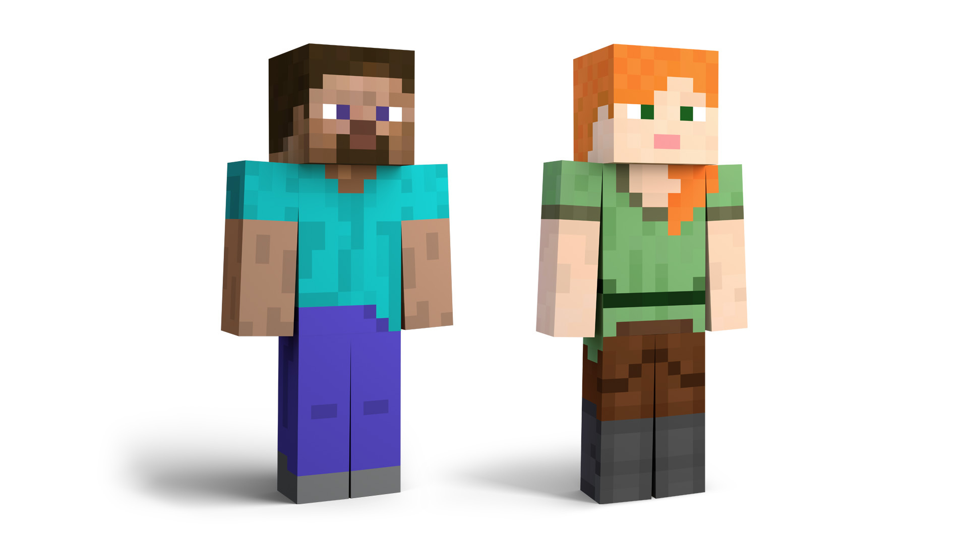 Steve And Alex From Minecraft Block Off Some Time To Join The Cast Of Super Smash Bros Ultimate Business Wire