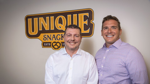 Bill Spannuth, Vice President and Chief Financial Officer, and Justin Spannuth, Vice President and Chief Operating Officer at Unique Pretzels
