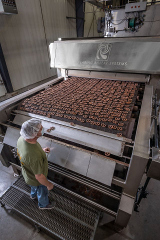 Reading Bakery Systems oven. (Photo: Business Wire)