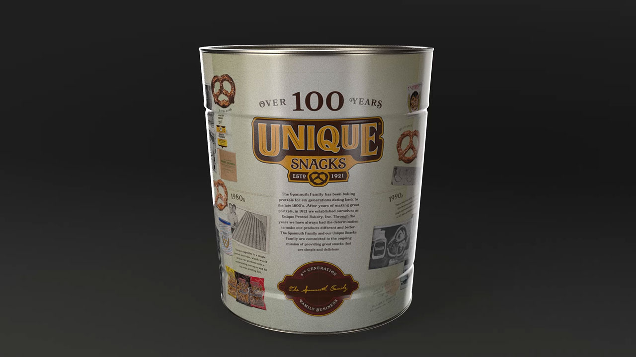 100th Anniversary Tin
