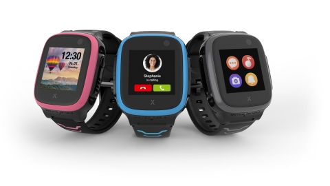 The new Xplora X5 Play smartwatch for kids keeps families connected and gets kids moving. (Photo: Business Wire)
