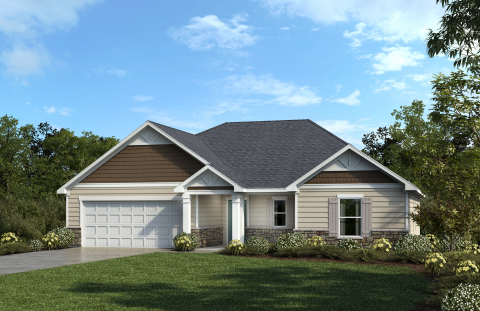 KB Home announces the grand opening of The Retreat at Lake Michael, its latest new-home community in Mebane, North Carolina, priced from the $240,000s. (Photo: Business Wire)