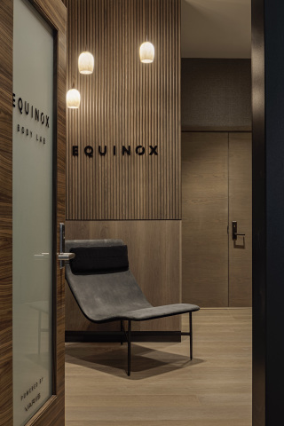 The Equinox Body Lab is a first-of-its kind regenerative destination that provides unique wellness offerings within The Centurion Lounge at John F. Kennedy Airport (Photo: Business Wire)
