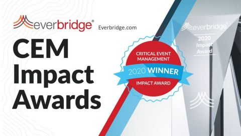 Everbridge Announces 4th Annual Critical Event Management Impact Awards (Photo: Business Wire)