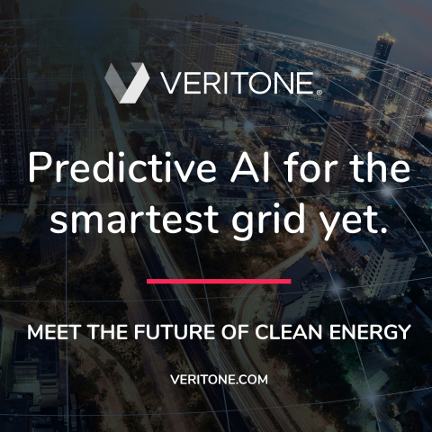 Veritone takes on smart grid optimization with real-time predictive AI. (Graphic: Business Wire)