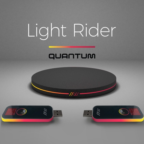 Powered by quantum technologies, Light Rider launches first two products to put quantum grade encryption into anyone's hands (Photo: Business Wire)