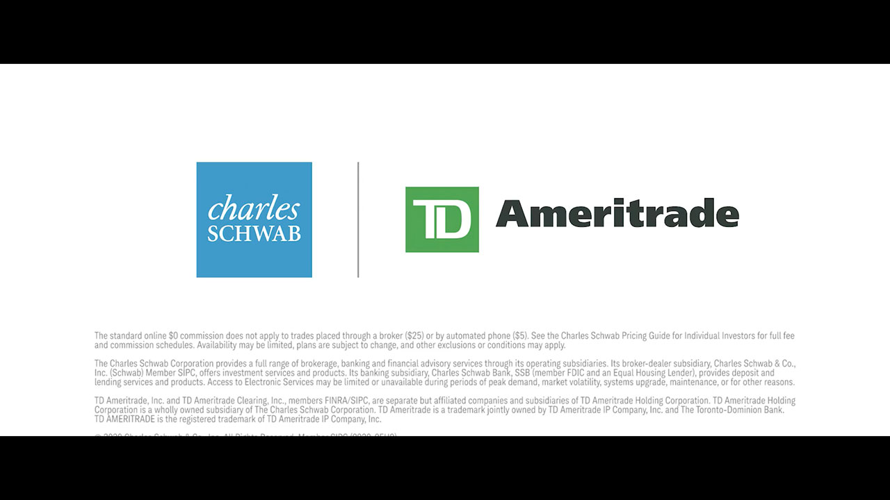 An exciting future, together. We are honored to be bringing Schwab and TD Ameritrade together. With the complementary strengths of our two great companies, we'll be better able to help people realize their dreams through the power of investing. In this video, Chuck offers his views on the combined firm.