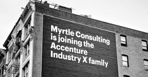 Accenture has agreed to acquire industrial operations consulting firm Myrtle Consulting Group (Photo: Business Wire)