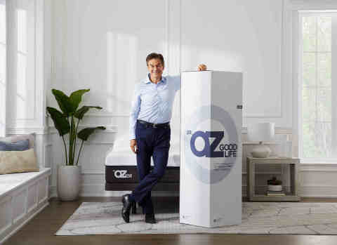 """Macy's, the ultimate, one-stop gift destination, makes holiday shopping even easier with an expert selection of thoughtful gifts; Dr. Oz Good Life 12"""" Plush Hybrid Mattress – Queen, $1,779.00 (Photo: Business Wire)"""