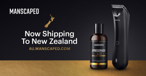 The global leader in male below-the-waist grooming and hygiene has landed in New Zealand. (Photo: Business Wire)