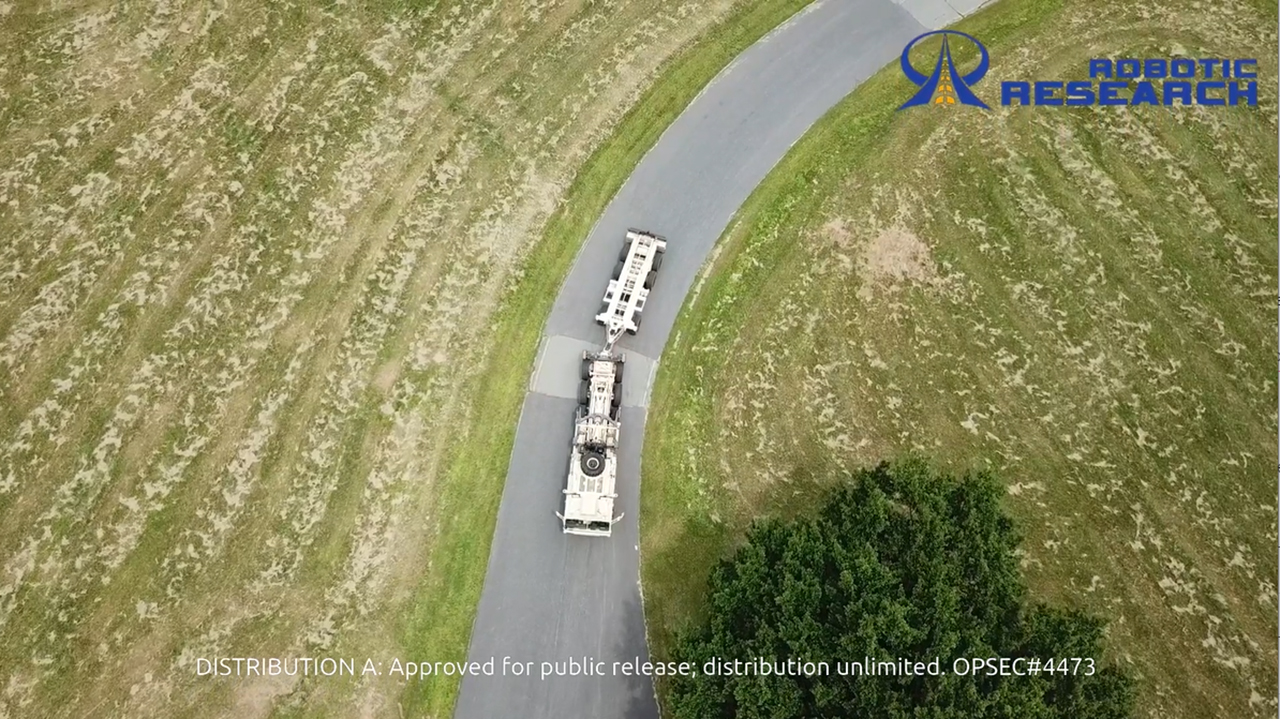 Retrotraverse is the autonomous reversing of vehicles with trailers. This is a major technological milestone for Robotic Research, delivered as an enhancement of the company's proprietary AutoDrive-M autonomy platform.