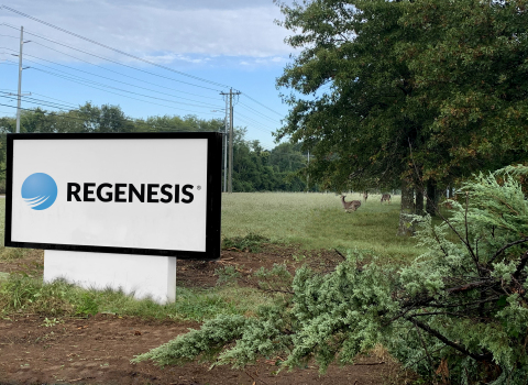 REGENESIS proudly announces it has expanded its operations to include a new state-of-the-art manufacturing and distribution warehouse strategically located outside of Nashville, Tenn. (Photo: Business Wire)