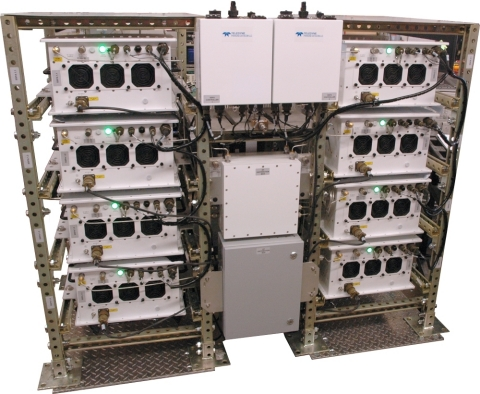 An outdoor PowerMAX SSPA system from Teledyne Paradise Datacom. (Photo: Business Wire)