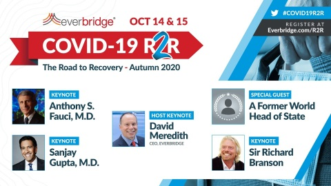 Everbridge COVID-19: The Road to Recovery (R2R) Autumn 2020 Symposium (Graphic: Business Wire)