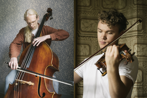 Students at the Royal College of Music in Stockholm - Credit: Mira Åkerman (Photo: Business Wire)