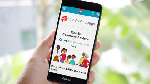 Walgreens Launches Find Rx Coverage Advisor to Help Customers Navigate Health Coverage Options (Photo: Business Wire)