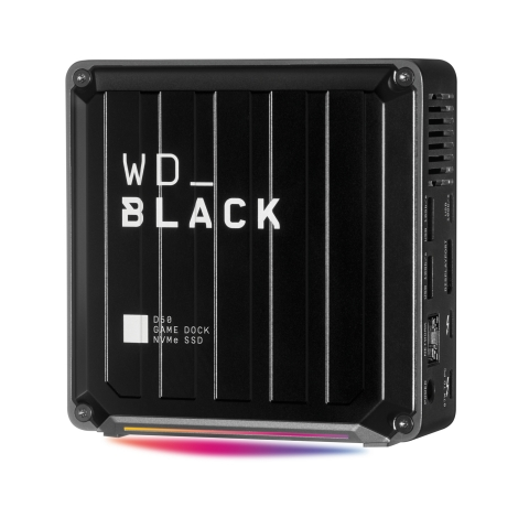 WD_BLACK D50 Game Dock NVMe SSD. Western Digital's latest additions to the WD_BLACK portfolio offer innovative gaming solutions to help consumers meet the demands of next-gen games. (Photo: Business Wire)