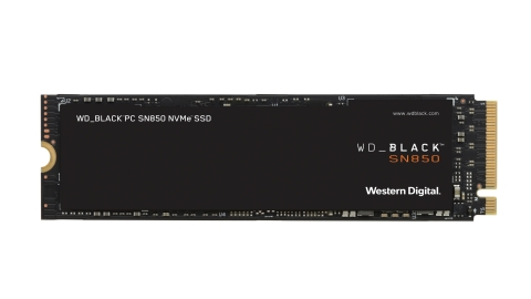 WD_BLACK SN850 NVMe SSD. Western Digital's latest additions to the WD_BLACK portfolio offer innovative gaming solutions to help consumers meet the demands of next-gen games. (Photo: Business Wire)
