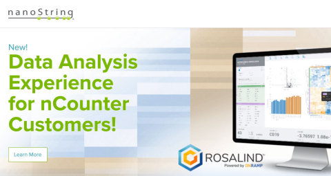 NanoSting now offers global access to ROSALIND for all nCounter users as a preferred analysis solution for nCounter data. (Graphic: Business Wire)
