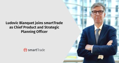 ルードビック・ブランケットがチーフプロダクト・ストラテジープランニングオフィサーとしてスマートトレードに参加 (Photo: smartTrade Technologies)