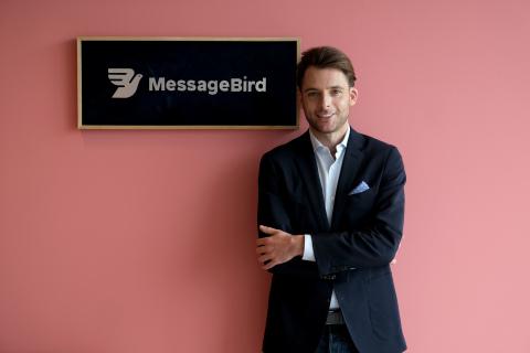 Robert Vis, MessageBird CEO (Photo: Business Wire)