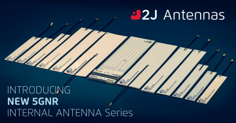 5GNR Antenna Series by 2J Antennas (Graphic: Business Wire)