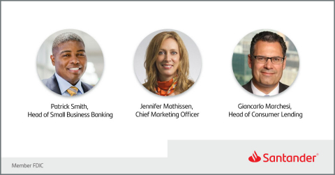 Santander Bank Announces Key Executive Appointments (Photo: Business Wire)