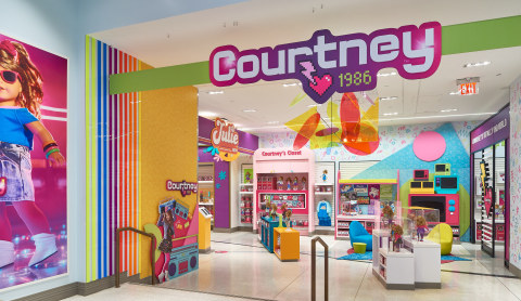 The all-new Courtney immersive experience at American Girl Place New York. (Photo: Business Wire)