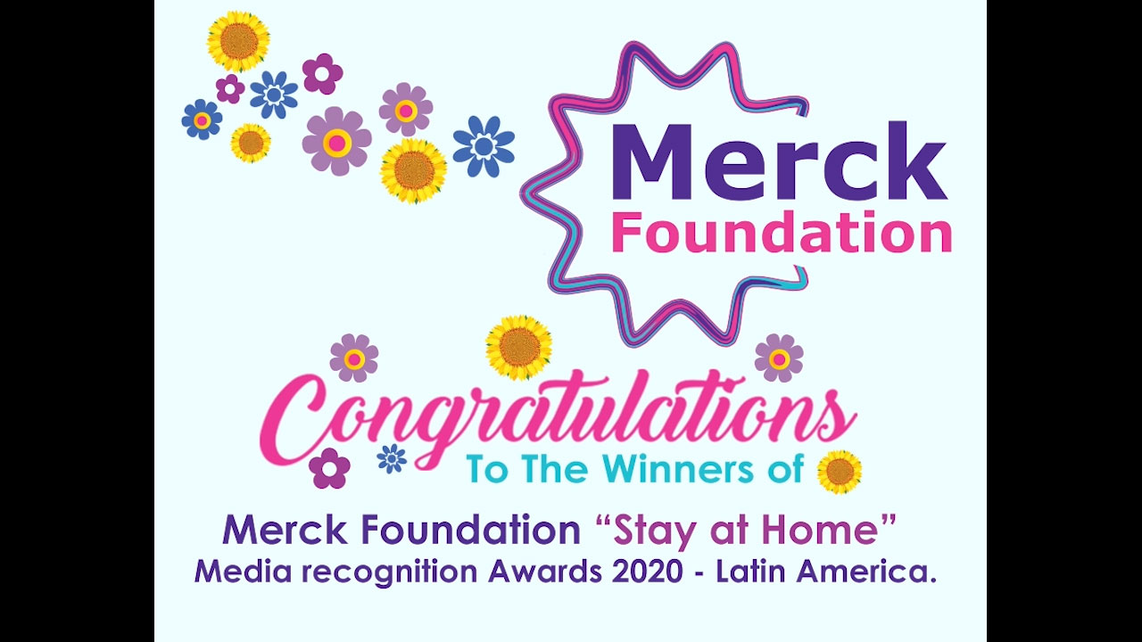 """Congratulations to the winners of """"Stay at Home"""" Media Recognition Awards for Latin American Countries"""