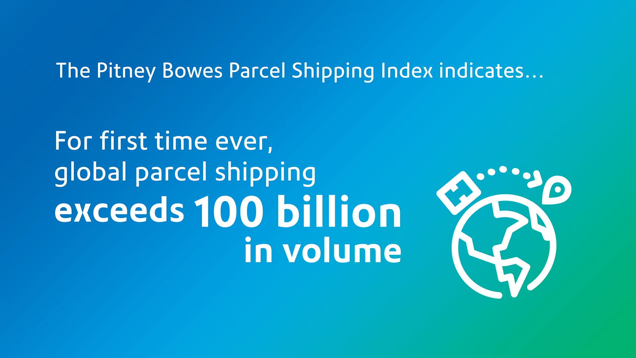 Pitney Bowes Parcel Shipping Index key findings