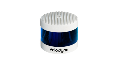 Velodyne Lidar announced a three-year sales agreement with Baidu for its Alpha Prime™ lidar sensors. With its combined range, resolution and field of view, the Alpha Prime is a sensor specifically made for autonomous driving in complex conditions for travel up to highway speeds. (Photo: Velodyne Lidar, Inc.)