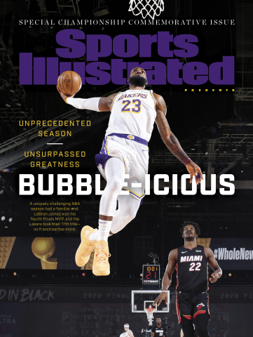Sports Illustrated Presents Lakers Issue Cover - October 2020. (Graphic: Business Wire)