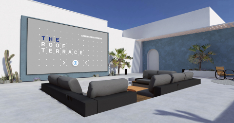 The Amex Virtual Campus – Roof Terrace (Photo: Business Wire)