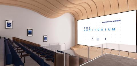 The Amex Virtual Campus – Auditorium (Photo: Business Wire)