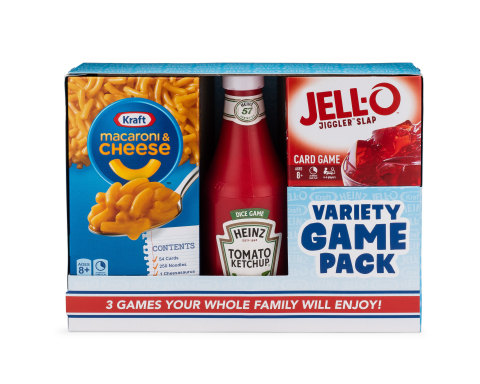 Big G Creative's Kraft Heinz Variety Game Pack (Photo: Business Wire)