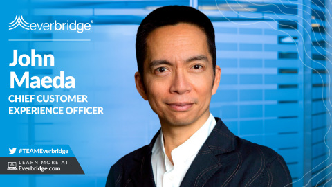 "Everbridge Appoints World-renowned Technologist, and ""One of the Most Influential People of the 21st Century,"" as Chief Customer Experience Officer to Innovate the Next Generation of Critical Event Management (CEM) (Photo: Business Wire)"