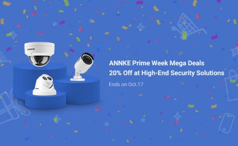 ANNKE Prime Day Sales 2020 (Photo: Business Wire)