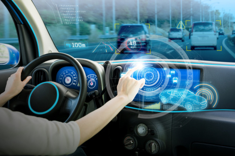 Vehicle Automation In-Vehicle UX (Photo: Business Wire)