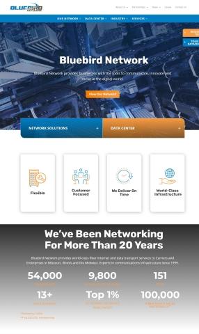 Bluebird Network website (Graphic: Business Wire)