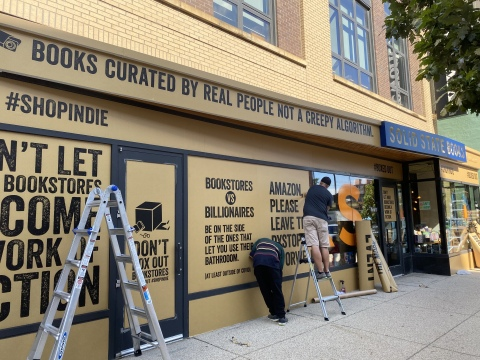 Indie bookstores launch national #BoxedOut campaign (Photo: Business Wire)