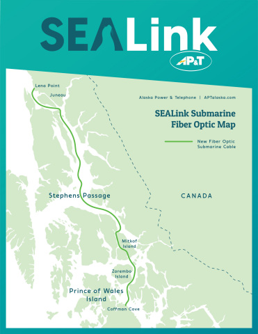SEALink Submarine Fiber Optic Map (Graphic: Business Wire)