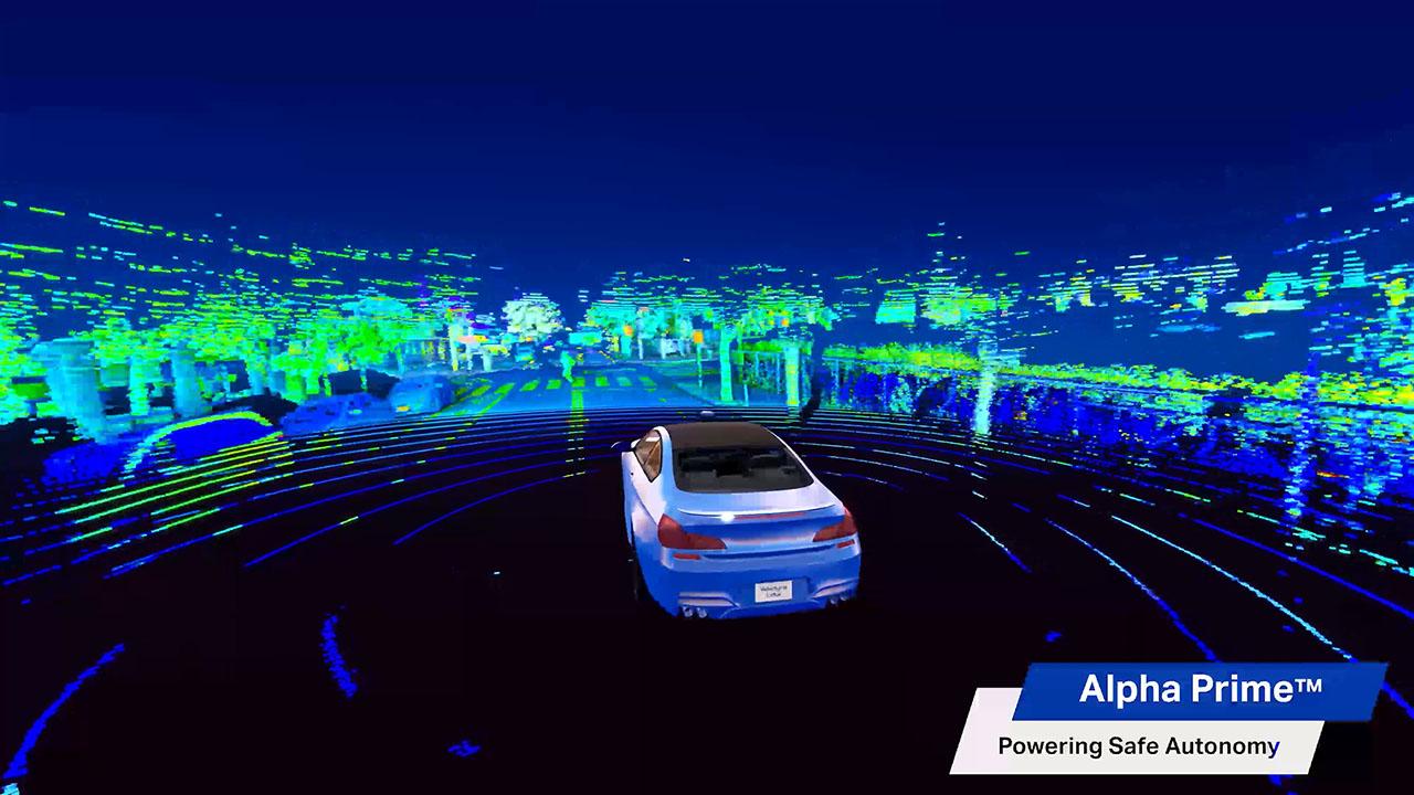 Velodyne Lidar's Alpha Prime™ sensor was designed to power safe mobility. It is a next generation lidar sensor that utilizes Velodyne's 360-degree surround-view perception technology to support autonomous mobility.