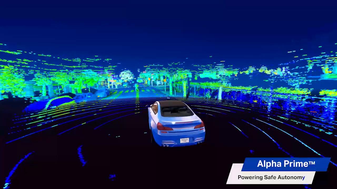 Velodyne Lidar's Alpha Prime™ sensor was designed to power safe mobility. It is a next generation lidar sensor that utilizes Velodyne's 360-degree surround-view perception technology to support autonomous mobility. (Video: Velodyne Lidar, Inc.)